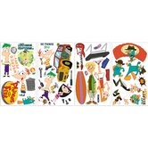 Licensed Designs Phineas and Ferb Peel and Stick Wall Decal Us Only