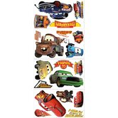 Cars - Piston Cup Champs Peel and Stick Wall Decals