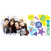 Big Time Rush Peel &and Stick Giant Wall Decal