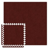 Economy SoftCarpets Set in Burgundy