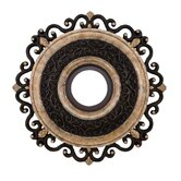 Napoli 22&quot; Ceiling Medallion in Sterling Walnut