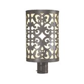 Nanti One Light Outdoor Post Lantern in Iron Oxide