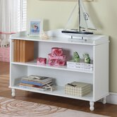 Two Tier Bookcase in White