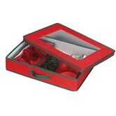 Storage and Organization Holiday Tabletop Set Chest in Red