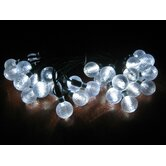 Smart Solar Accents Ball Light String
