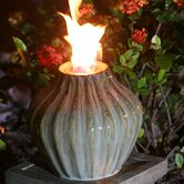 "10"" Prometheus Ceramic Garden Torch"