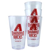 MLB Plastic Pint Cup (4 Pack)