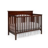 Lauren Classic 4-in-1 Convertible Crib in White