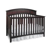 Charleston Non-Drop Classic 4-in-1 Convertible Crib in Cherry