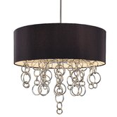 Ringlets 8 Light Drum Pendant