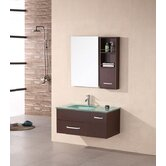 "Picks Christine 35"" Single Modern Vanity Set"