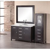 "London 48"" Single Bathroom Vanity with Opitonal Four Drawer Cabinet"
