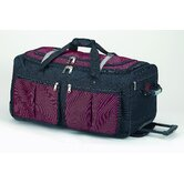 15 Pocket  29&quot; 2-Wheeled Travel Duffel