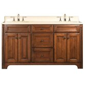 "Spain 60"" Double Standard Bathroom Vanity"