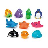 Ten Squirtin Sea Buddies Toy