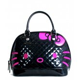 Hello Kitty Quilted Face Satchel