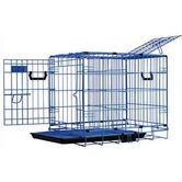 DreamCrate Professional Dog Crate in Blue