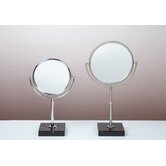 Kosmetic Olympia 5X Mirror in Brushed Nickel