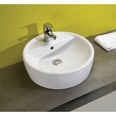Universal Urban Bathroom Sink in White