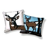 Animal Instinct Oh, Deer! Pillow