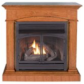 Hertiage II Dual Fuel Four-in-One Gas Fireplace