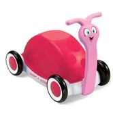 Girls' Pedal Push, Pull and Ride Walker Wagon