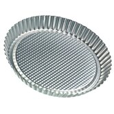 Zenker Bakeware by Frieling 11&quot; Tin-Plated Steel Flan / Tart Pan