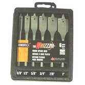 6 Piece The Whizzz® Spade Wood Bit Set 476940