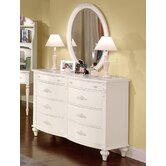 Cheri 6-Drawer Dresser Set