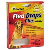 Flea Drops for Dogs Under 30 lbs  to Over 60lbs (6 Pack)