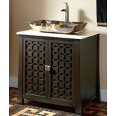 30&quot; Single Vessel Sink Vanity in Espresso