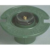 Circle Plastic Flush with Plastic Nozzle