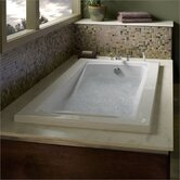 Green Tea 21&quot; x 60&quot; Whirlpool Bath Tub in White