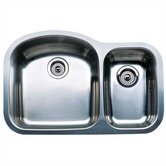 Wave Plus 1.5 Plus Bowl Undermount Kitchen Sink