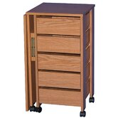 VHZ Office Mobile Armoire Desk