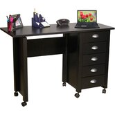 "VHZ Office 43"" W Mobile Craft Computer Desk"
