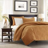 Ivory Coast Coverlet Set in Cinnamon