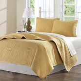 Calypso Coverlet Set in Gold