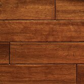 "French 4-3/4"" x 1/2"" Engineered Distressed Maple in Brown Sugar"