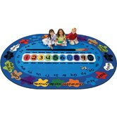 Bilingual Spanish &quot;Paint by Numero&quot; Kids Rug