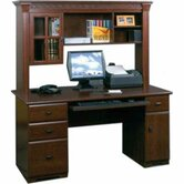 Wood Front Desk