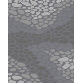 Landscapes River Rocks Grey Rug