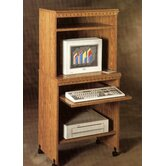 Americus 25&quot; W Computer Trolley in Oak
