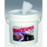 Antibacterial Gym Wipes in White