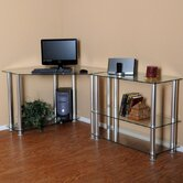 Corner Computer Desk with 35&quot; Modular Extension