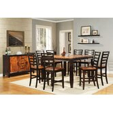 Abaco 9 Piece Counter Height Dining Set