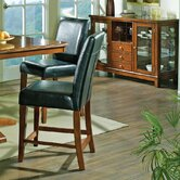 Plato Counter Height Dining Chair in Multi-Step Dark Oak