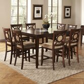 Visconti 9 Piece Counter Height Dining Set
