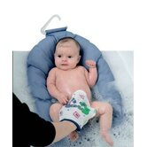 Infant Safer Bather with Fish Print