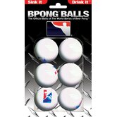 Beer Pong Ball (Pack 6)
